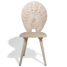 Wood Carvin Chair 1
